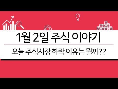 [1월2일 주식이야기] 오늘 주식시장하락 이유 (미래의 나에게 전하는 말)