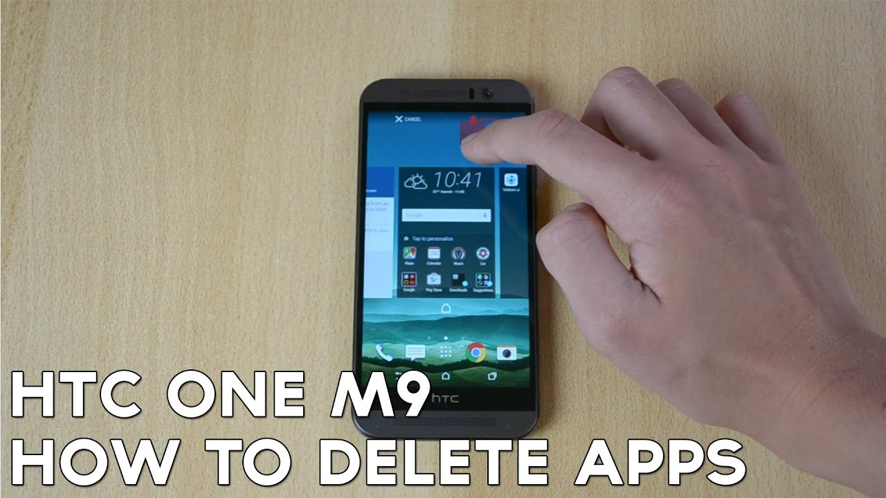 Uninstall Apps On Htc One M9!