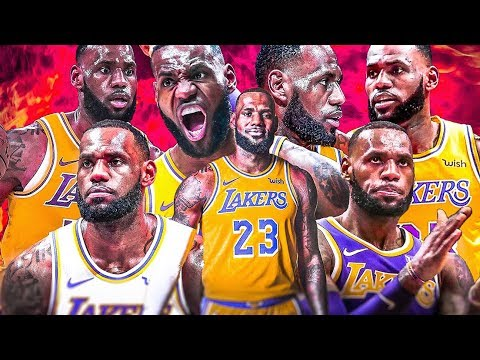 LeBron James - ULTIMATE Lakers Highlights