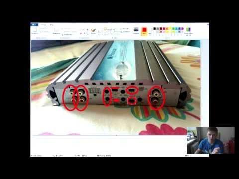 Как подключить сабвуфер к 4 х канальному усилителю