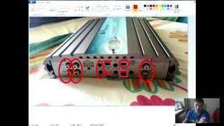 Подключение 4-х канального усилителя на саб и динамики (ШКОЛА_Анти_автозвук)