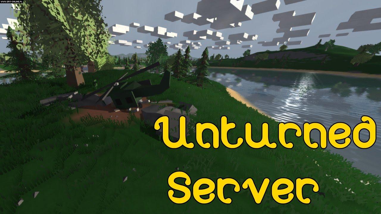 unturned how to make a hamachi server