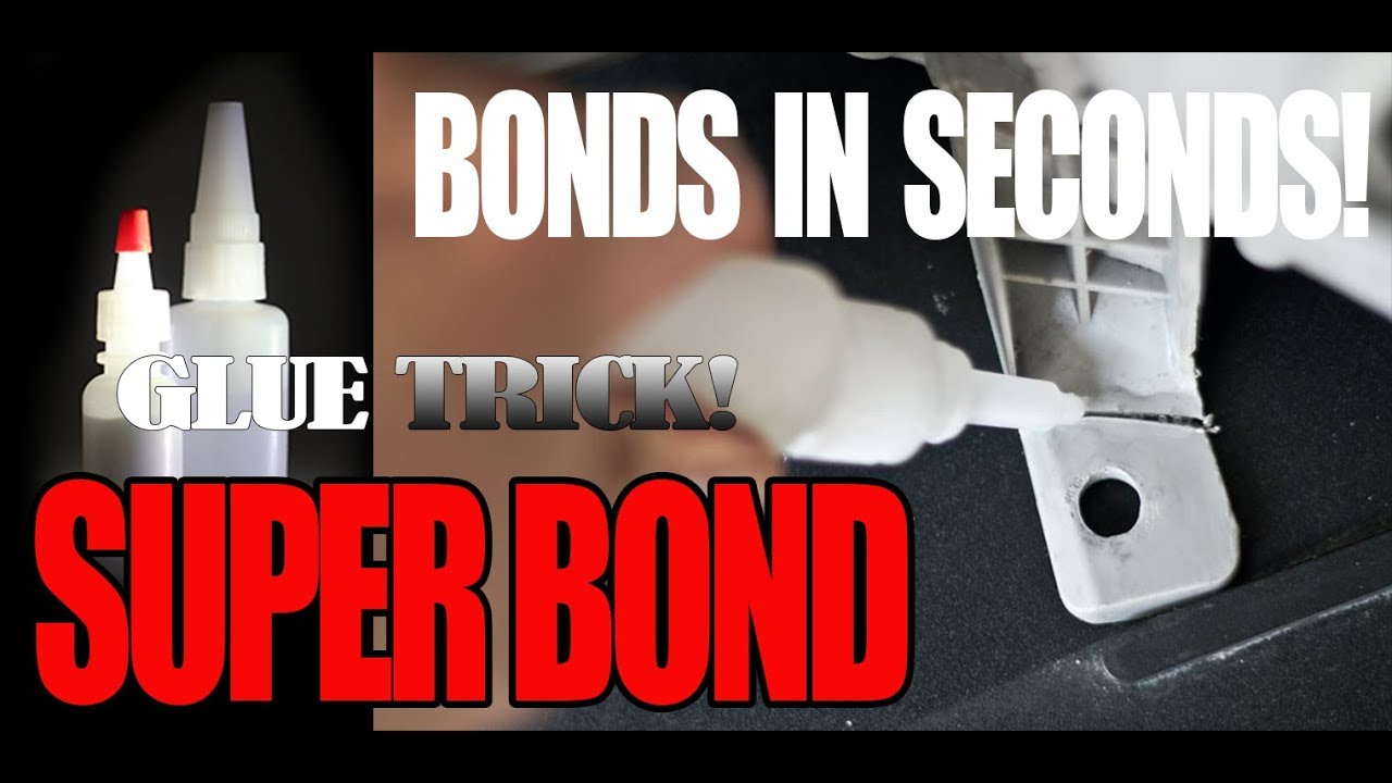 c94ff56f785 Super Bond Glue Trick! They Don't Want You To Know! - YouTube