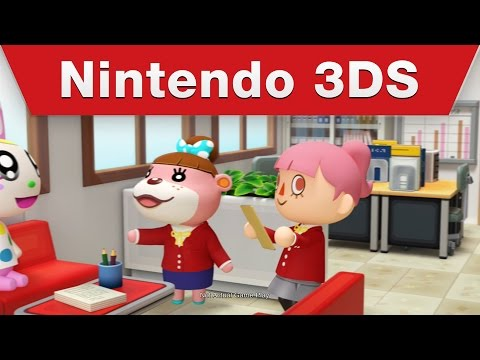 Nintendo 3DS - Animal Crossing: Happy Home Designer - Dream Homes