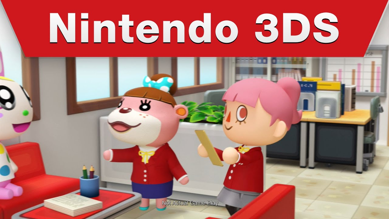 Nintendo 3DS - Animal Crossing: Happy Home Designer - Dream Homes ...
