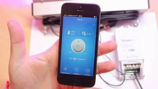 Обзор Wi-Fi модулей сонофф (sonoff ТН10). Настройка и подключения, недостатки. AliExpress