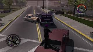 Saints row 1 evil cars cheat game clip I made