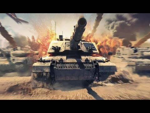 Tank Strike 3D (by Doodle Mobile Ltd) - Android Gameplay HD