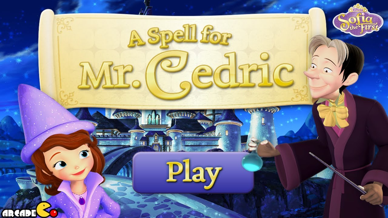 Sofia The First Full Gameplay Game - A Spell For Mr. Cedric