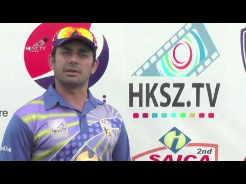 HKSZ.TV Official Sponsors Of Interloop Tournament Pakistan Faisalabad Saeed Ajmal Partners New