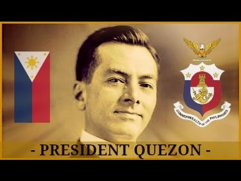 President MANUEL LUIS QUEZON: Message to the People of the Philippines | Circa 1920s