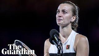 'It's painful': Petra Kvitova reflects on Australian Open loss to Naomi Osaka