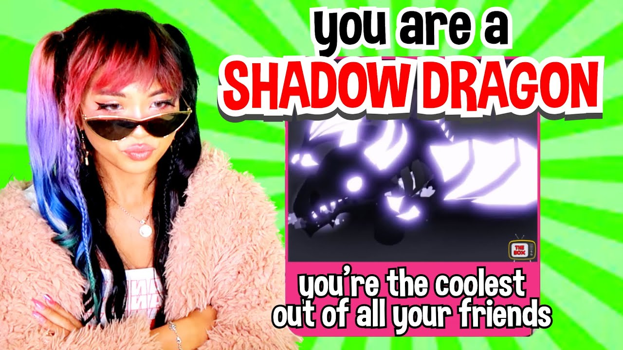 Download Which DRAGON are you??? Adopt Me Roblox Personality Test (Bat Dragon, Frost Fury, Shadow Dragon)