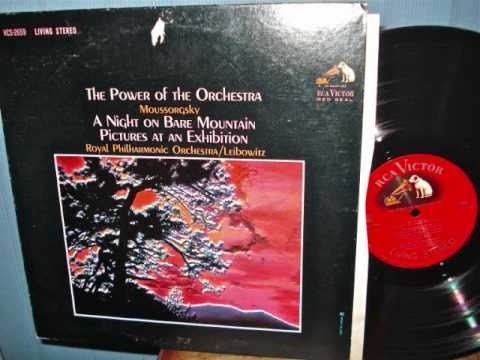 The Power of the Orchestra Rene Leibowitz MUSSORGSKY
