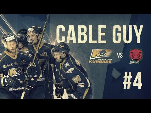 Cable Guy #4 HK Kurbads - ko saka Bruno Zabis hokeja spēles laikā