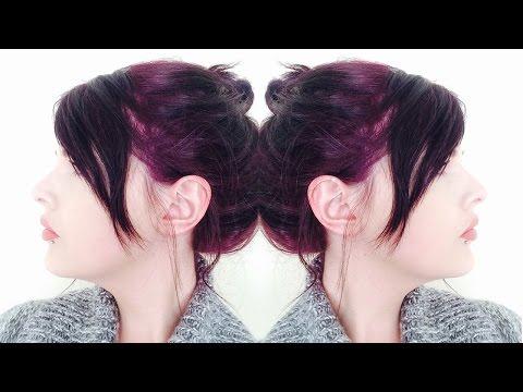 b3784bb6ea Dying My Hair Dark Plum/Purple using Live XXL Ultra Violet - YouTube