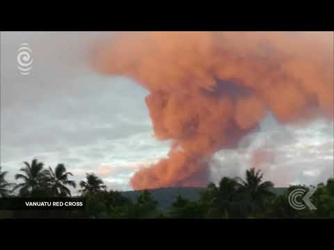 Complete exodus ordered on Vanuatu island Ambae