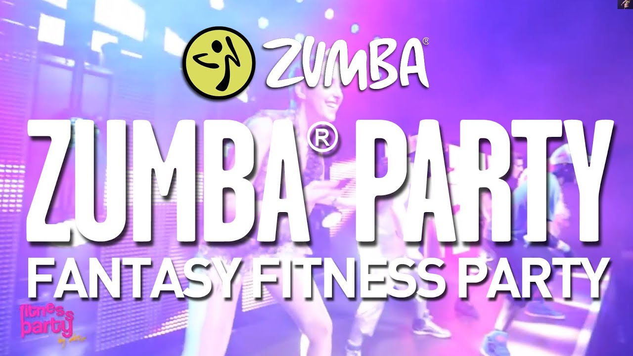 Zumba 174 Fantasy Fitness Party Alix S Birthday Youtube