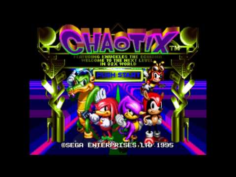 Knuckles Chaotix  - Botanic base, Marina madness, Techno tower, Speed slider zones