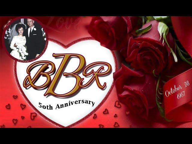 Beverly & Richard Breske 50th Wedding Anniversary