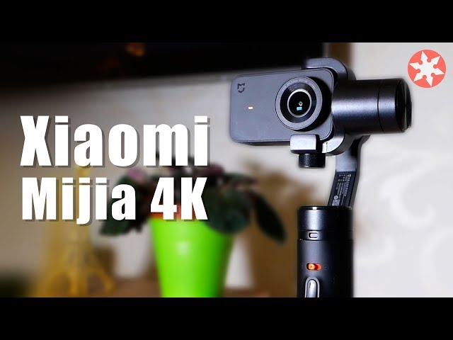 Xiaomi Mijia 4k Action Camera & Стабилизатор Mijia
