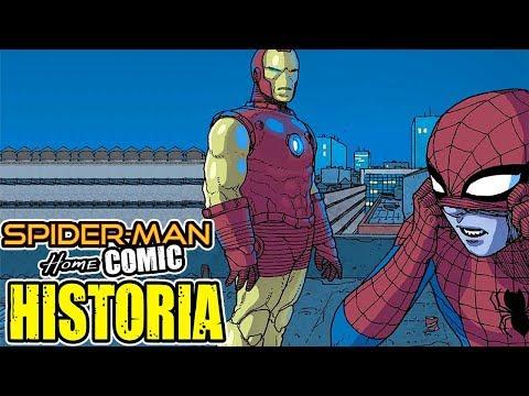 Spiderman HomeCOMIC: Peter Conoce a Iron Man | Historia Completa | Spidey #5-6