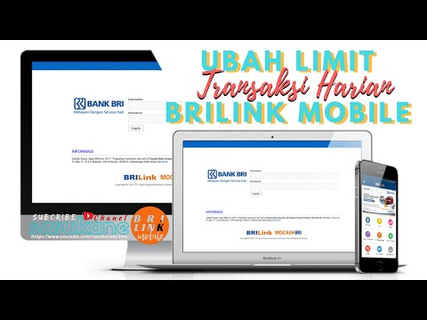 Cara Ubah Limit Transaksi Harian BRILink Mobile &Web