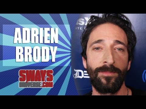 Adrien Brody Plays his Beats as Souls of Mischief Freestyle on Sway in the Morning