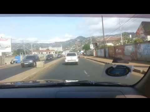 Driving around Freetown pt3