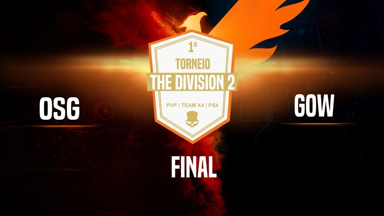 🔴 The Division 2 | 1º Torneio de PVP - PS4 | Final | OSG x GOW
