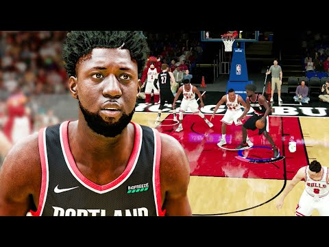 NBA 2K21 Mobile MyCAREER #4 First Game As A Starter PAINT BEAST! I Found A NEW VC Method! |