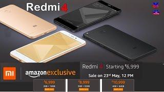 xiaomi redmi 4 price specifications features comparison   xiaomi redmi 4 launched in india