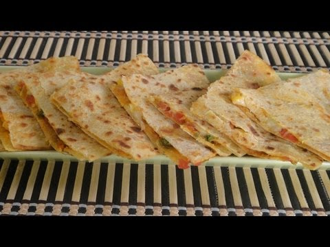 Corn and Asparagus Quesadillas