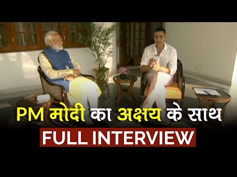 Akshay Kumar interviews PM Narendra Modi | Full Interview
