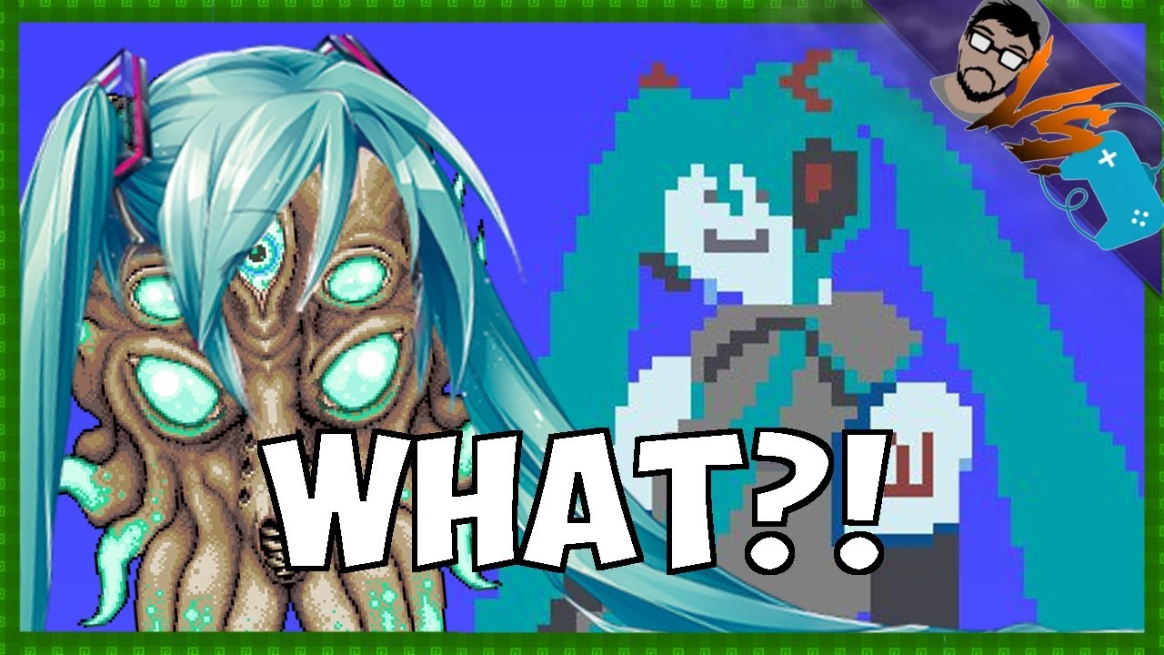 WHY IS HATSUNE MIKU IN TERRARIA?!