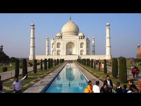 Taj Mahal, Agra, India in 4K Ultra HD