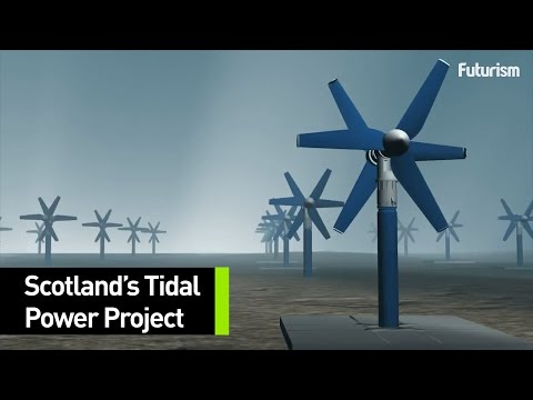Scotland's Massive Tidal Power Project
