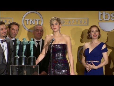 "(Entire Speech)  ""American Hustle"" Cast at SAG"