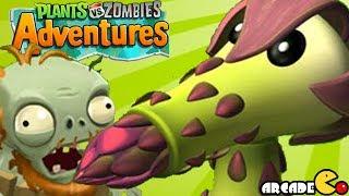 Plants vs Zombies Adventure - NEW PLANT UNLOCKED PVZ on Facebook Walkthrough Part 2