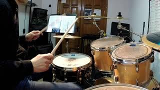 Samba   only drums   Самба на барабанах   Барабанные видео уроки   Алесь Соболь.
