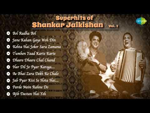 Superhits Of Shankar Jaikishan | Old Hindi Songs | Indian Music Composers | Vol 1