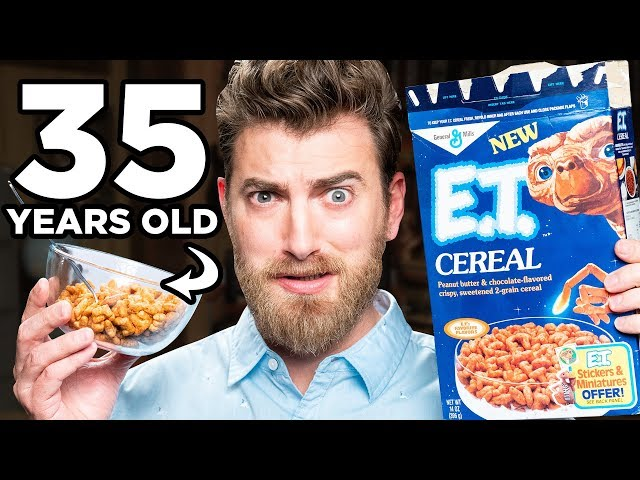 Discontinued E.T. Cereal Taste Test