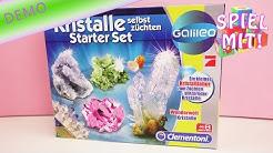 Kristalle selber züchten mit dem Set von Clementoni – Physik ist schön