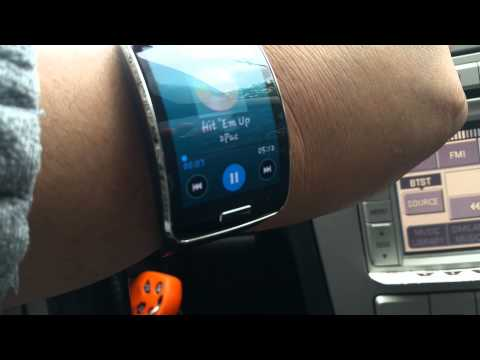 Samsung Gear S Connected To Sync BT In My Lincoln MKZ