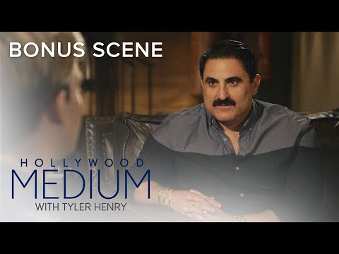 Reza Farahan Connects With Late Uncle Using Obscure Object  Hollywood Medium with Tyler Henry  E!