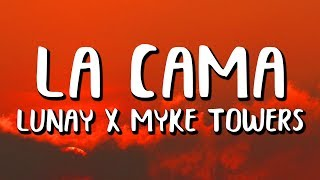 Download Lagu Lunay, Myke Towers - La Cama (Letra) Terbaru