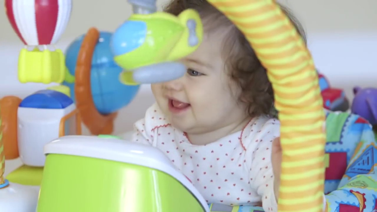 ff5e4126d5e1 ExerSaucer World Explorer Triple Fun - YouTube