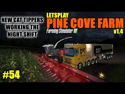 "Farming Simulator 17 - Pine Cove Farm v1.4 ""Letsplay"" Part 54"