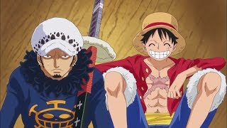 The Strawhats and Law form an alliance to kill Kaido(ENG SUB)HD