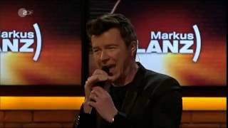 Rick Astley - Never Gonna Give You Up (19.07.16) (Unplugged) (Markus Lanz)
